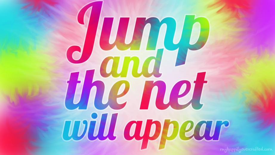 Wallpaper - Jump and the net will appear