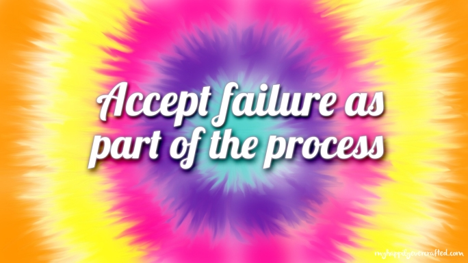 Wallpaper - Accept failure as part of the process