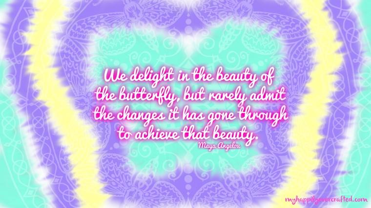 Maya Angelou Quote Wallpaper